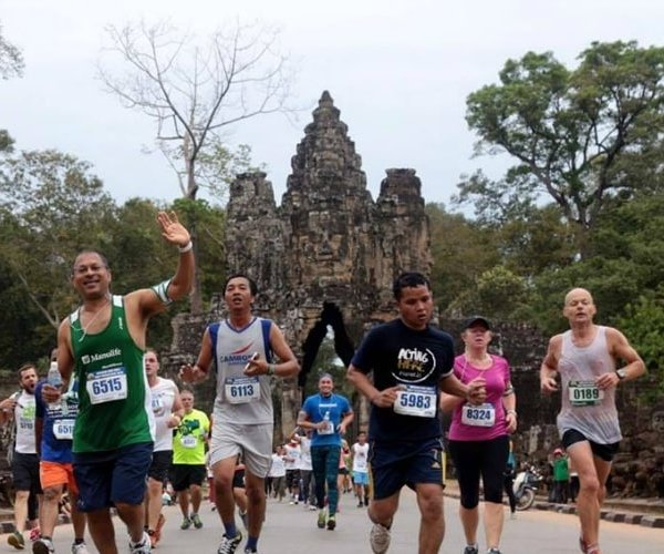 Angkor Empire Marathon in Siem Reap, Cambodia - photo by Angkor Empire Marathon