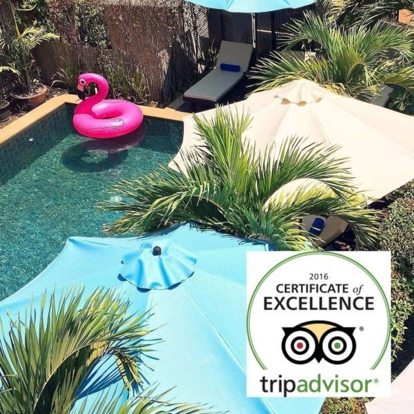 Baby Elephant Boutique Hotel would like to thank our guests for reviewing us on TripAdvisor!