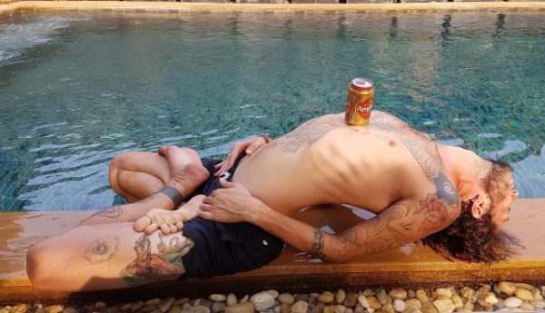 beer yoga siem reap at Baby Elephant Boutique Hotel