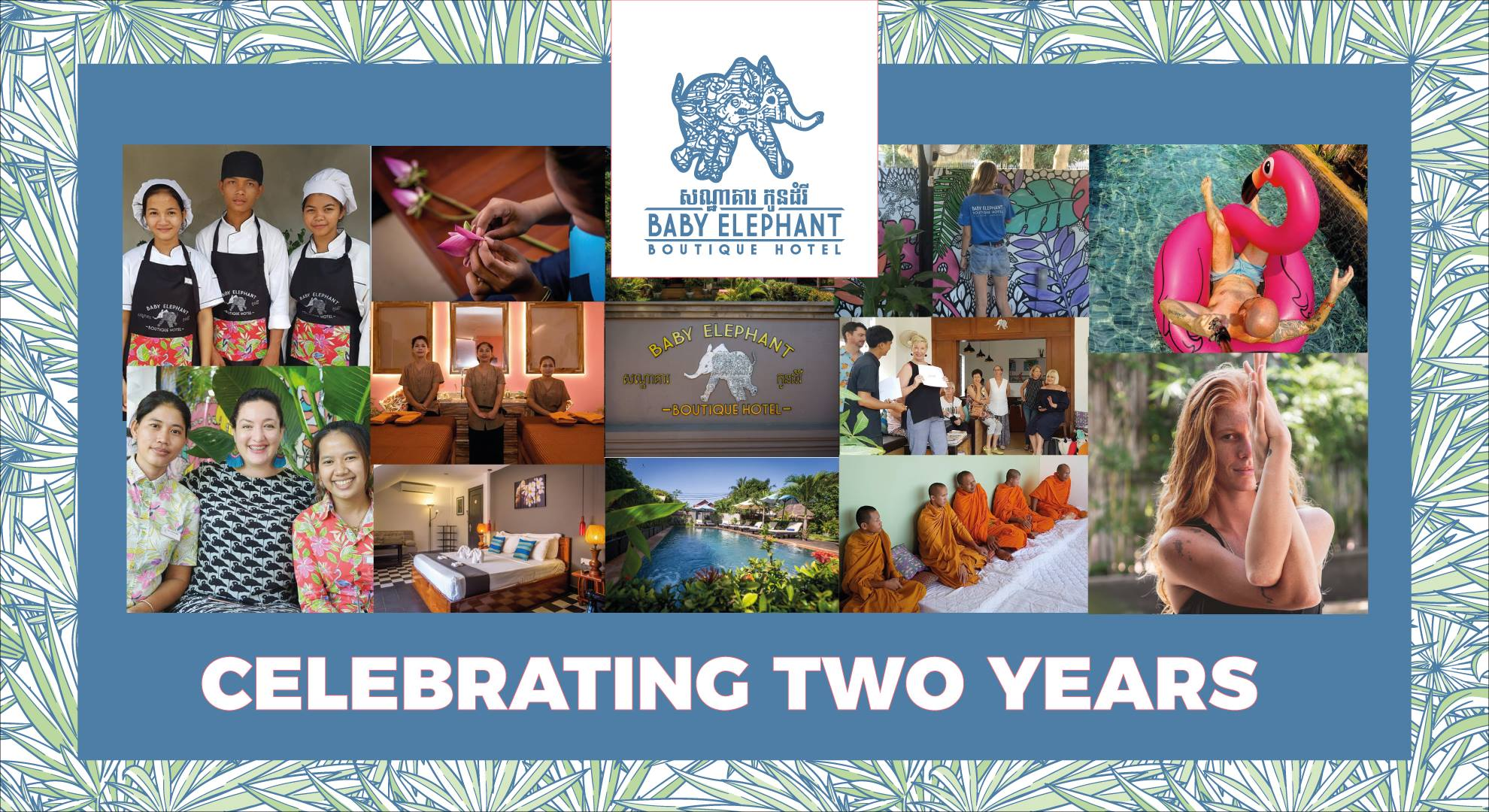 Celebrating two years of Baby Elephant Boutique Hotel in Siem Reap, Cambodia