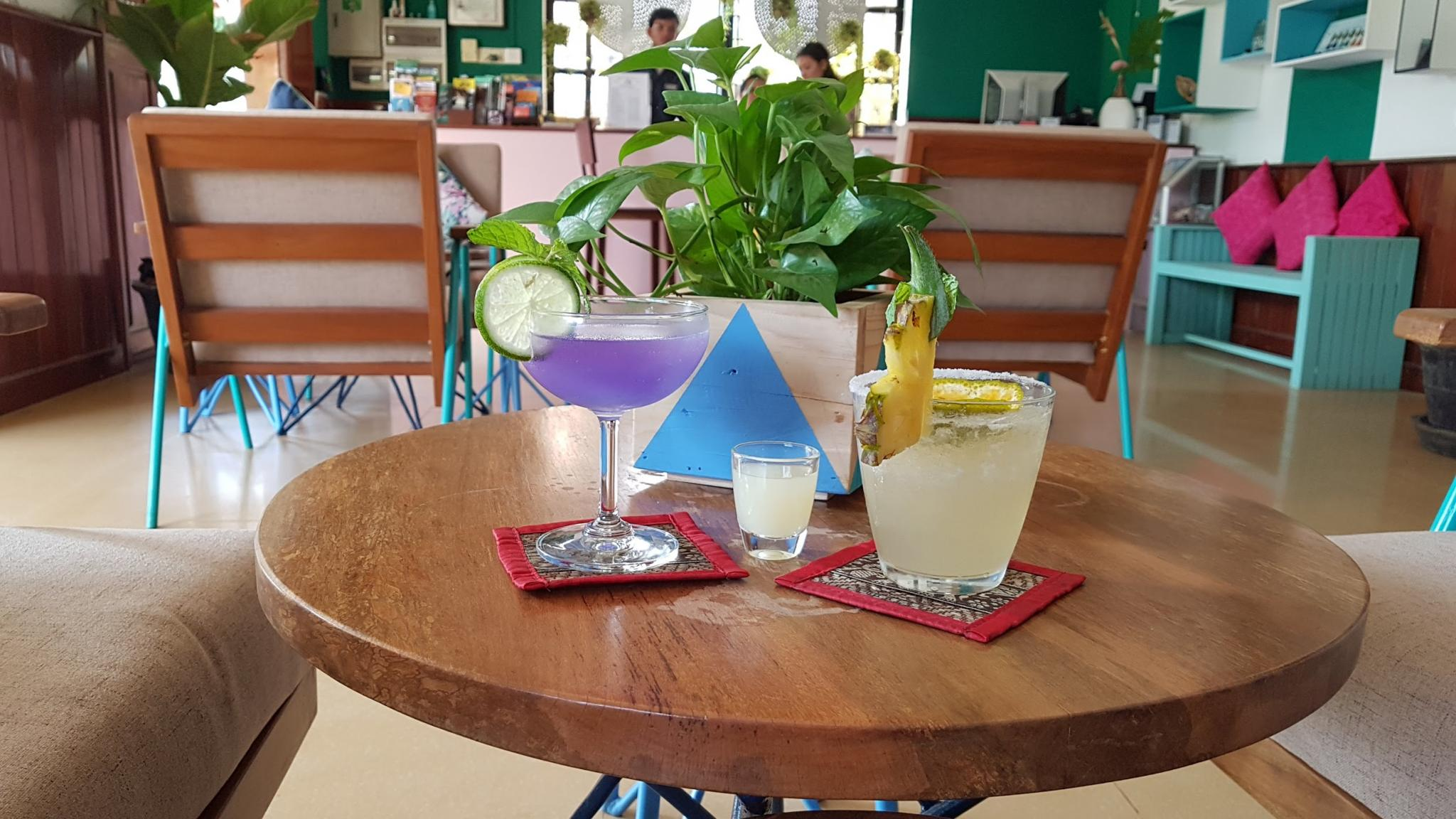 El Diego and The Mood Ring cocktails of the month for December 2017 at Baby Elephant Boutique Hotel in Siem Reap, Cambodia