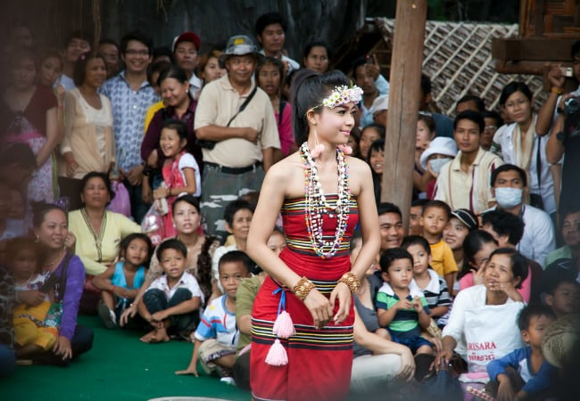 Khmer New Year celebrations in Siem Reap, Cambodia - photo by Narin BI