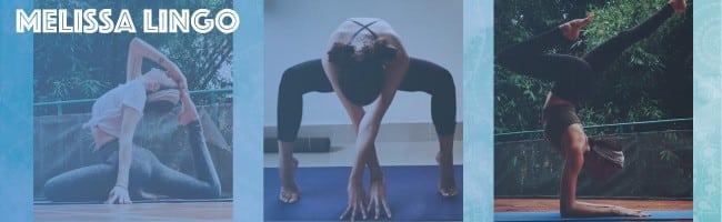New yoga teacher Melissa Lingo