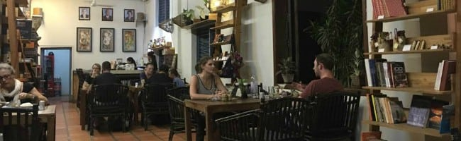 New Leaf café in Siem Reap, Cambodia - photo by Chris Wotton