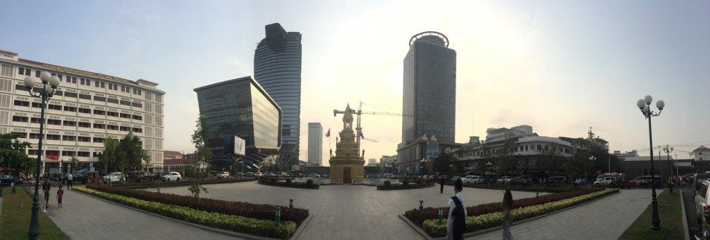 phnom penh panorama