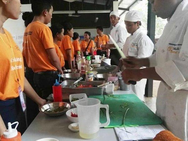Sala Bai training restaurant in Siem Reap, Cambodia - photo by Sala Bai