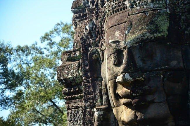 Temple in Siem Reap - photo by Danielle C