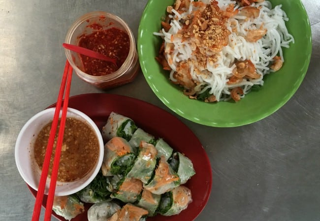 Street food in Siem Reap, Cambodia - photo by Chris Wotton
