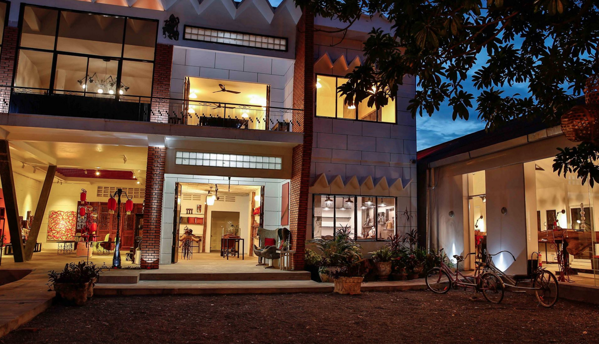 The 1961 Coworking & Art Space in Siem Reap, Cambodia - photo by The 1961 Coworking & Art Space