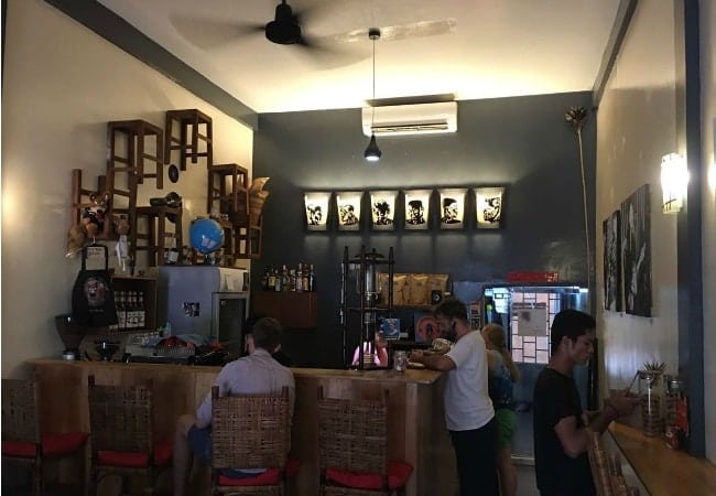 The Little Red Fox Espresso cafe in Siem Reap, Cambodia - photo by Chris Wotton