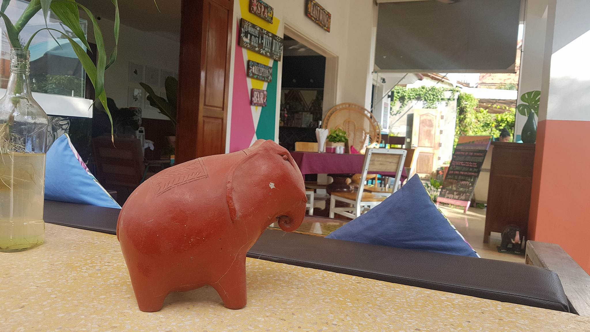 Theam's House elephant statue at Baby Elephant Boutique Hotel in Siem Reap, Cambodia - photo by Baby Elephant Boutique Hotel