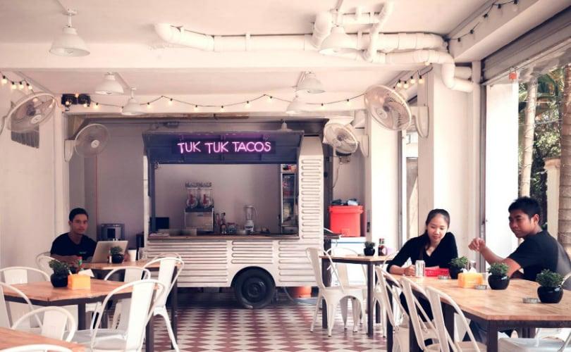 Tuk Tuk Tacos restaurant in Siem Reap, Cambodia - photo by Tuk Tuk Tacos