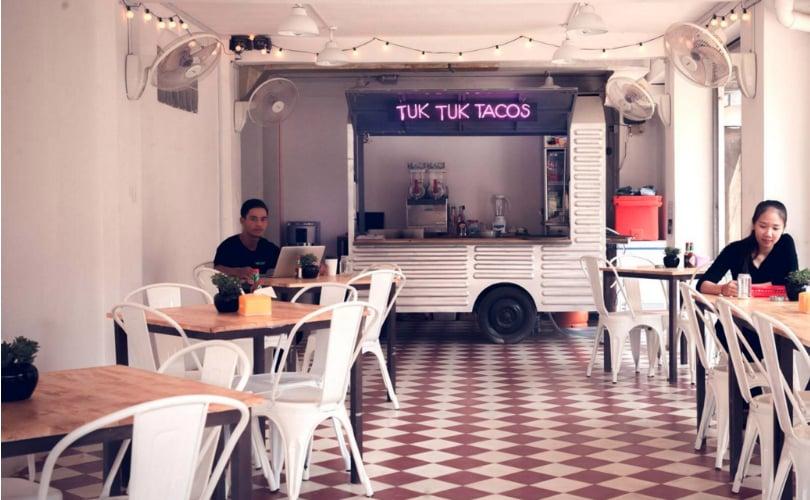 Tuk Tuk Tacos Mexican restaurant in Siem Reap, Cambodia - photo by Tuk Tuk Tacos