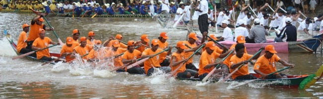 The Cambodian Water Festival (Bon Om Touk) - photo by Nick Hewson