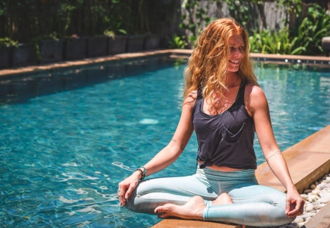 Yoga at Baby Elephant Boutique Hotel in Siem Reap, Cambodia