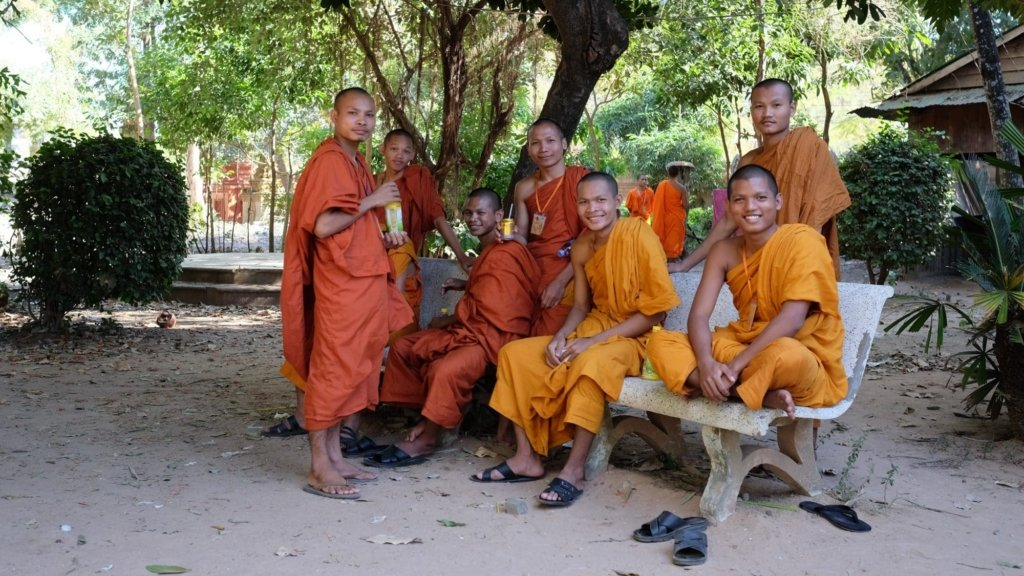 Wat Bo Monks Siem Reap